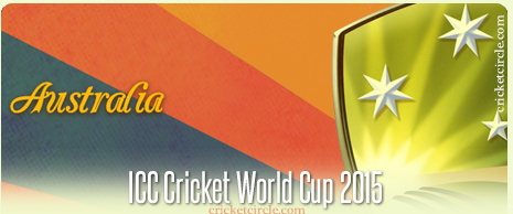 Australia Cricket World Cup 2015