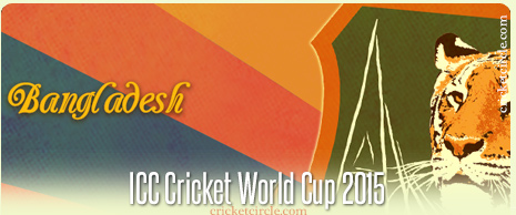 Bangladesh Cricket World Cup 2015