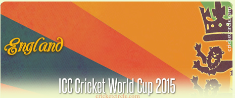 England Cricket World Cup 2015