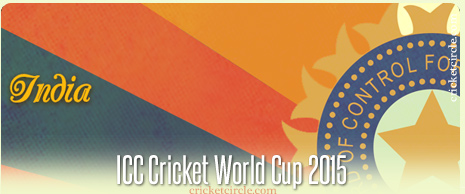 India Cricket World Cup 2015