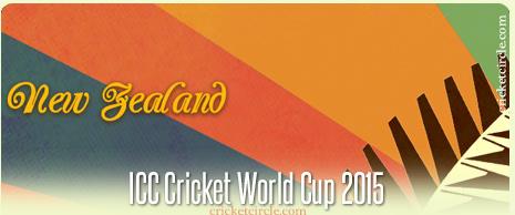 New Zealand Cricket World Cup 2015