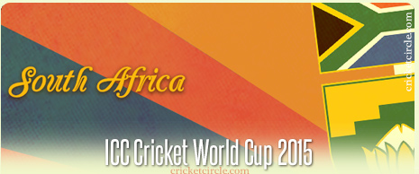 South Africa Cricket World Cup 2015